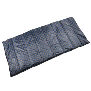 Custom Compact Durable Plaid Printed Envelope Sleeping Bags