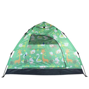 Custom Cute Pattern Printed Pop Up Play Tent
