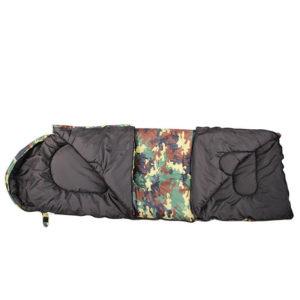 Custom Lightweight Envelope Camouflage Sleeping Bags for Camping Hiking Traveling