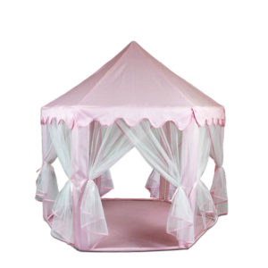 Custom Pink Princess Tent House for Little Girls