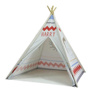 Customized Cute Printed Indoor Teepee Tent Children's